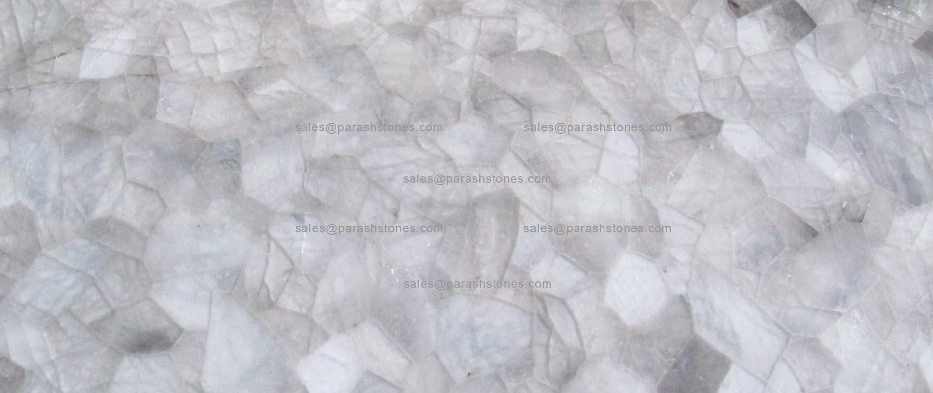 Crystal Quartz Surface Slab Amp Tiles Manufacturer Crystal