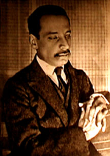 image of the poet, Rainer Maria Rilke, known for his imagery and diction