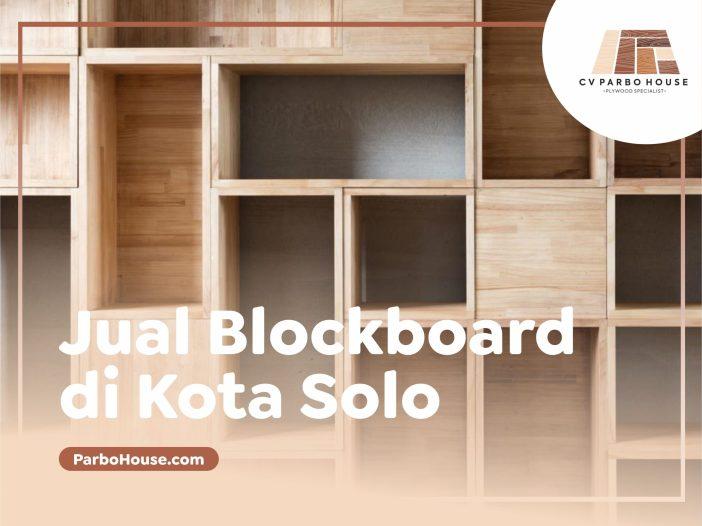 Jual plywod Blockboard di Solo