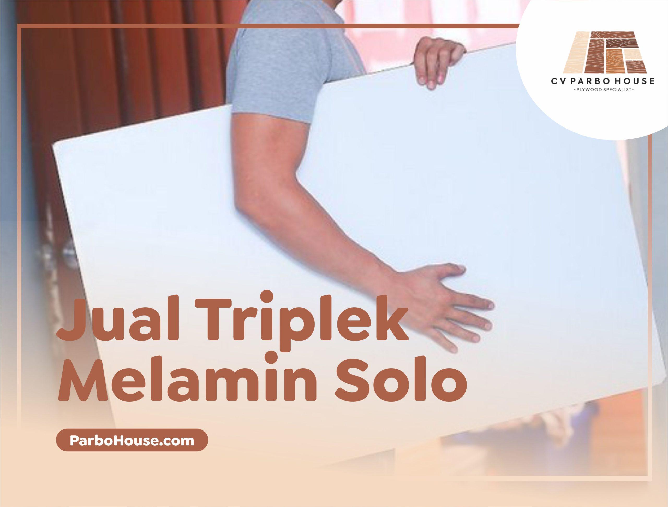 Jual Triplek Melamin Solo