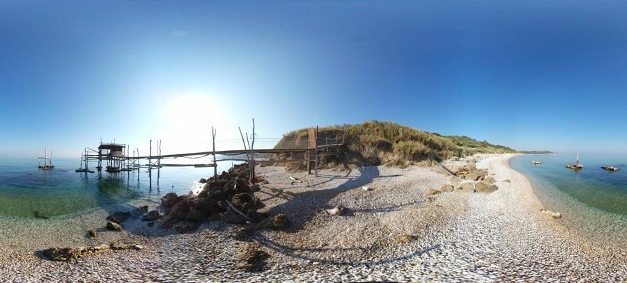 spiaggia calata cintioni di San Vito