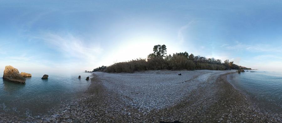 spiaggia della canale vasto