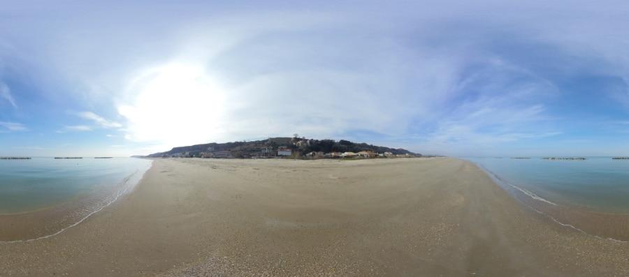 Spiaggia del Fiume Foro ad Ortona