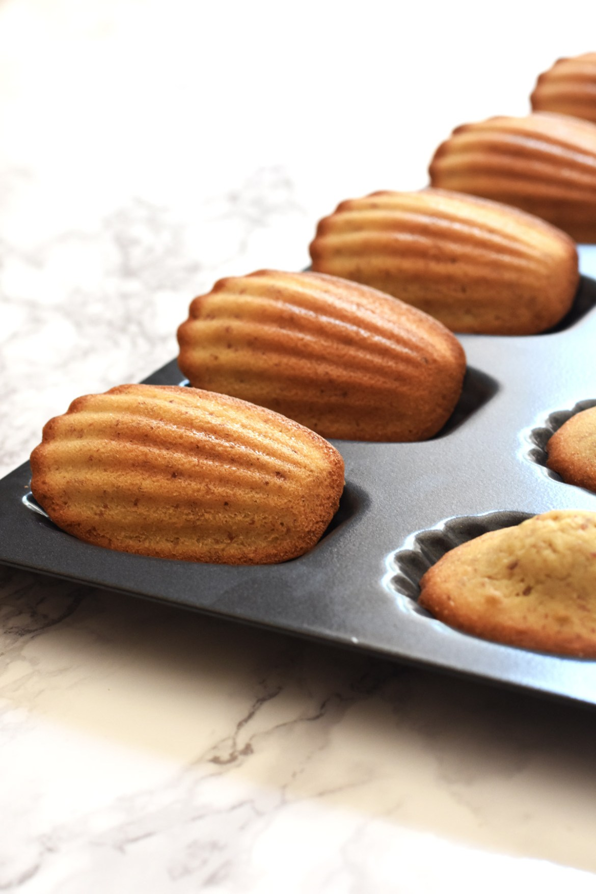 French Butter Madeleines