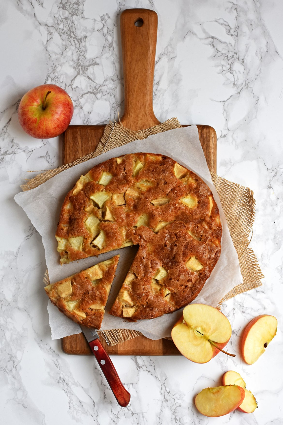 Spelt French Apple Cake Pardon Your French