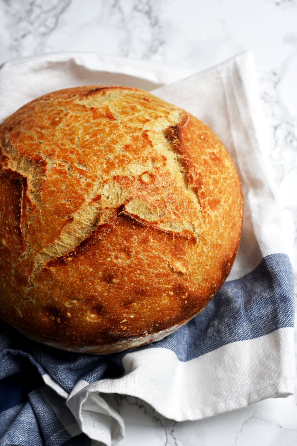 Classic French Boule Bread