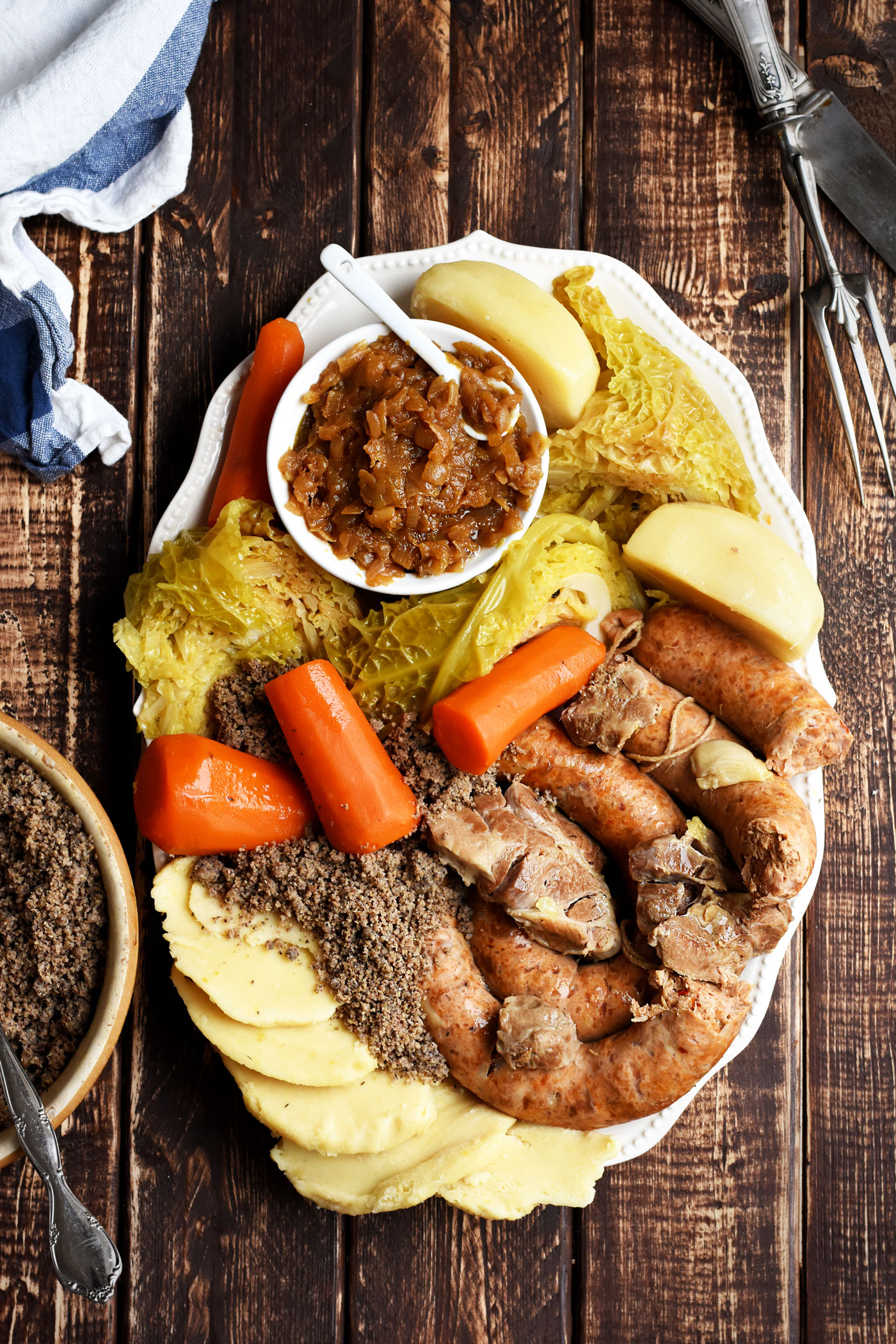 Buckwheat with chanterelles - hearty dish