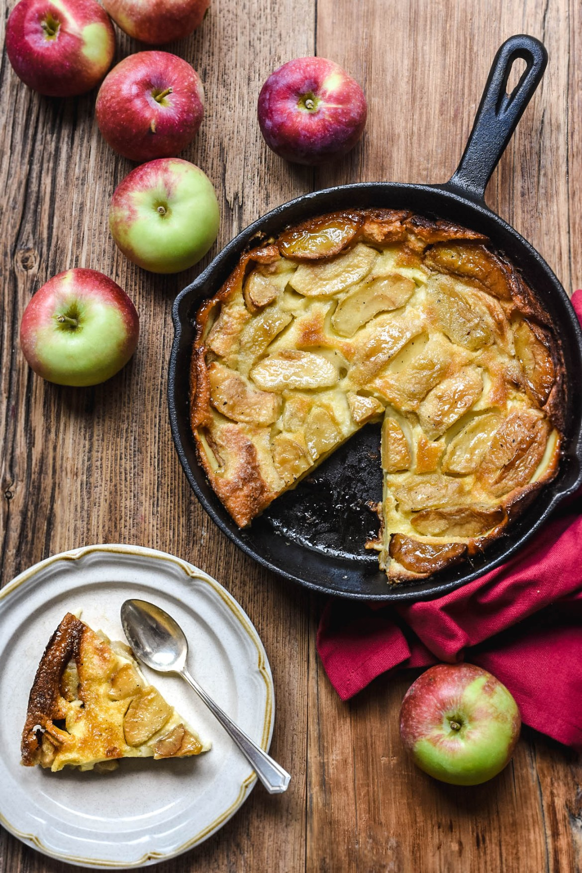 Skillet Caramelized Apple Cake From Brittany Pardon Your French