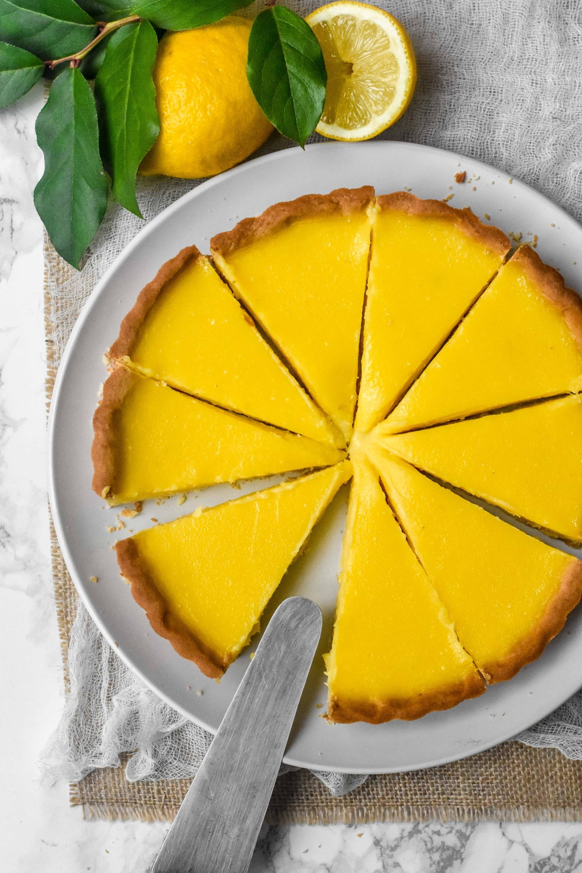 lassic french lemon tart