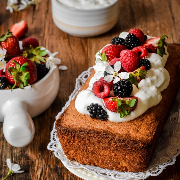 Breton Pound Cake