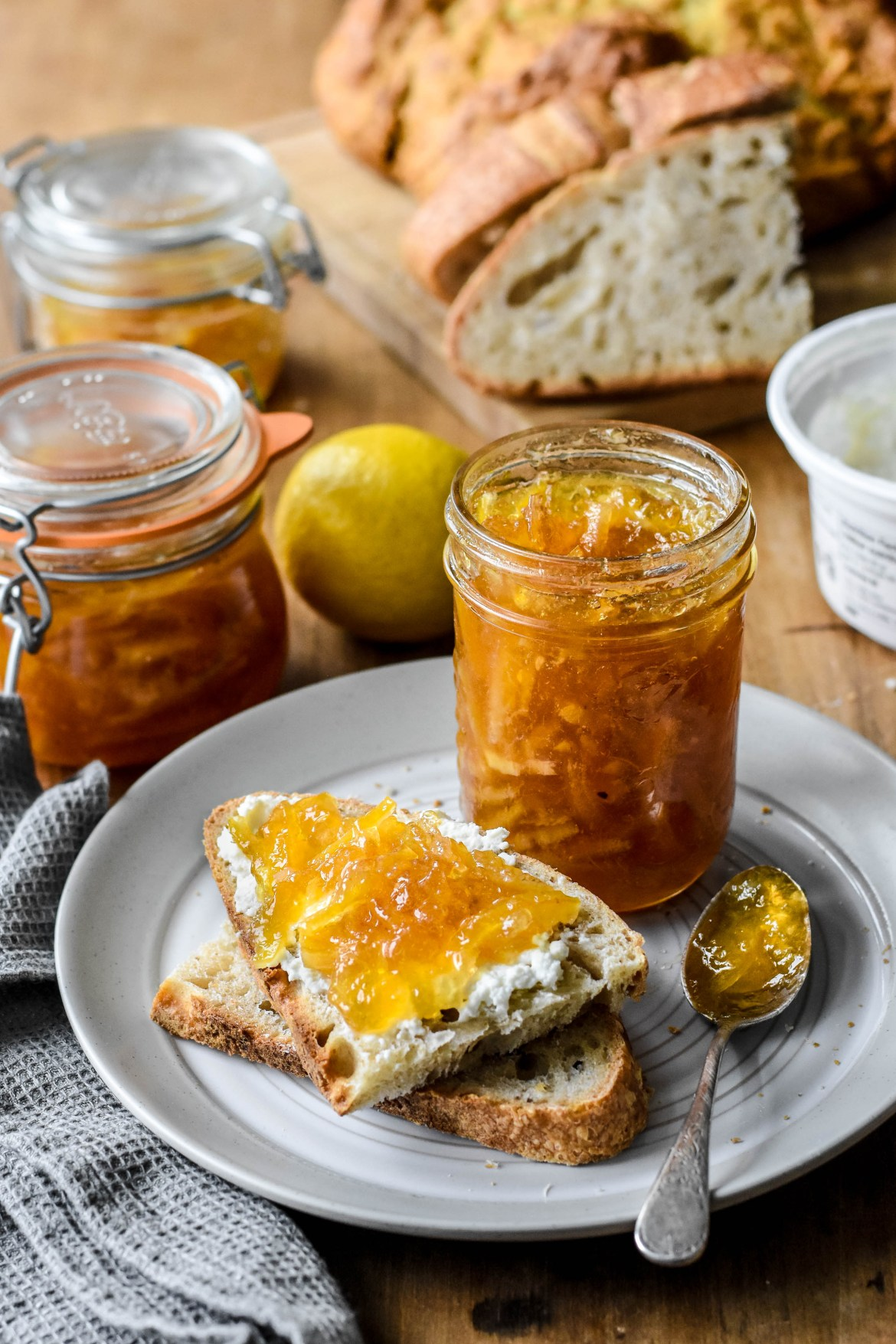 Honey Lemon Marmalade