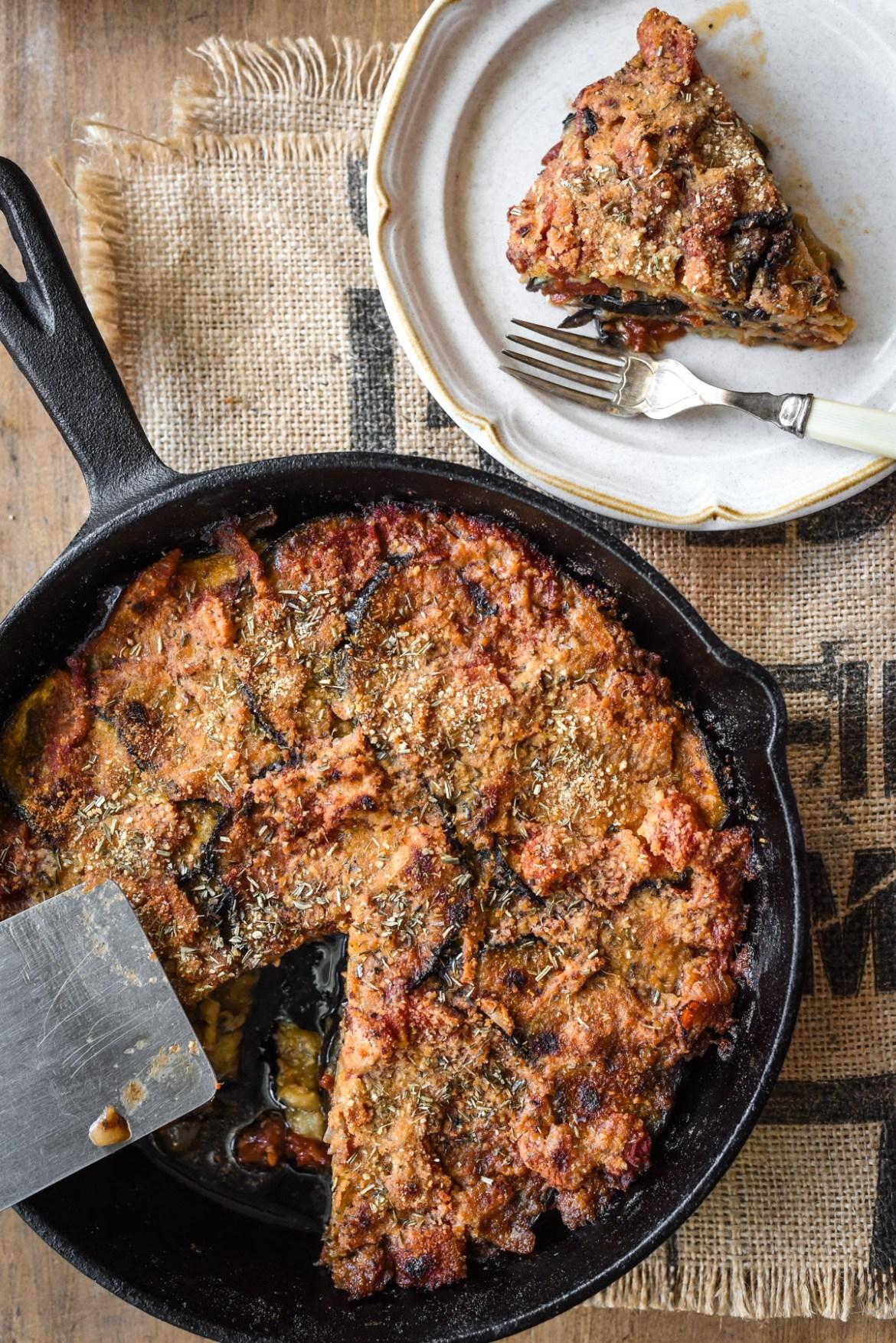 Provençal Eggplant Tomato Gratin
