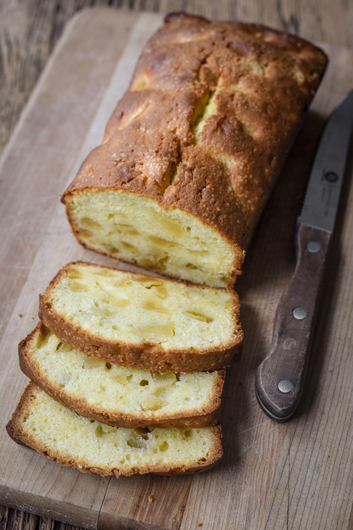 Apple Breton Pound Cake