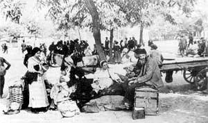 Αποστολή εξορίστων από το Δυτικό Πόντο προς το Κουρδιστάν