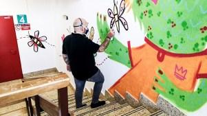 Arte en las Paredes que cura Believe in Art