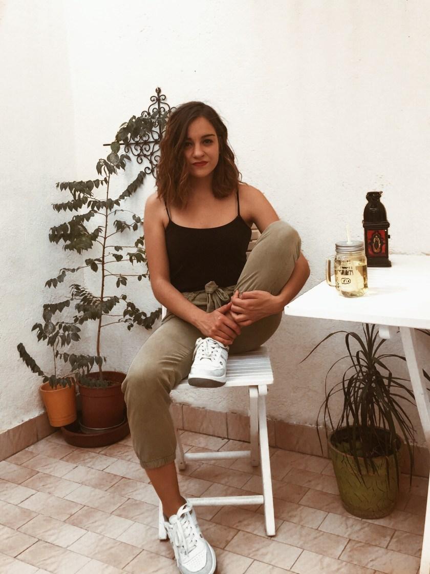 Cristina Manjabacas ilustra las Zapatillas Paredes Estrella