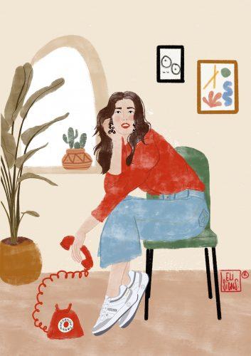 Paredes con la Ilustración española Eli Martínez