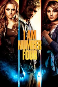 """Poster for the movie """"I Am Number Four"""""""