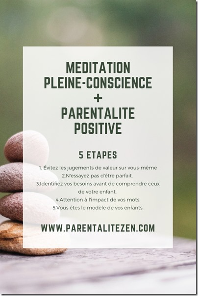 Pinterest Meditation Parentalite Positive