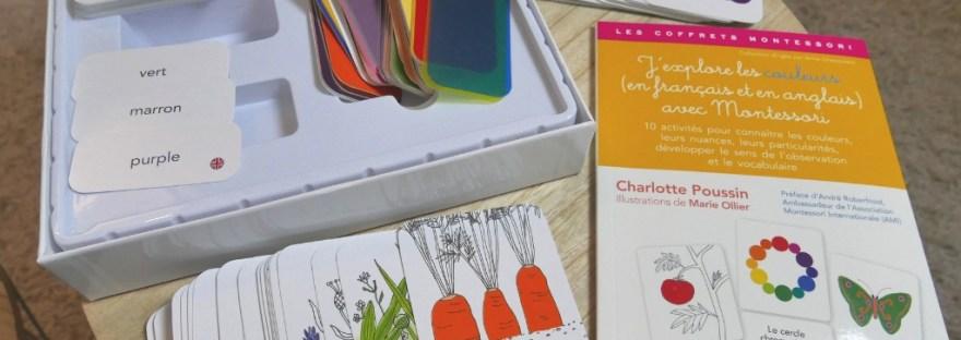 Cover - J'explore les couleurs avec Montessori