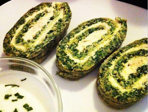 Savory Spinach Rolls