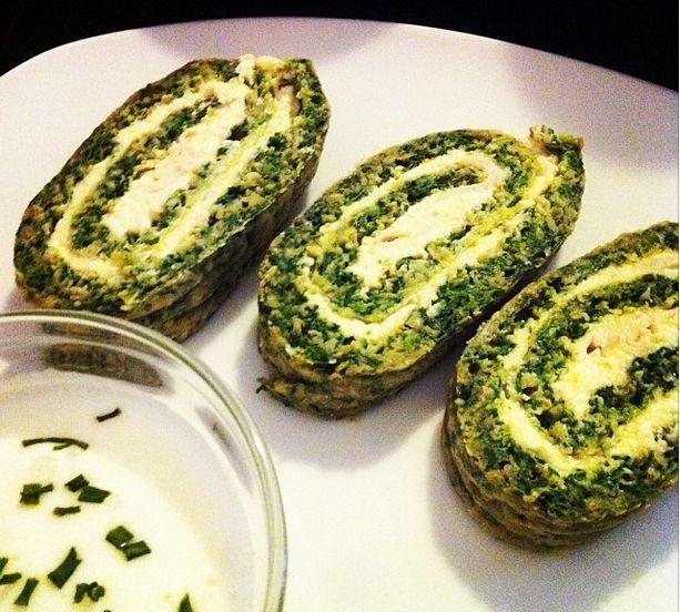 Spinach Rolls Recipe