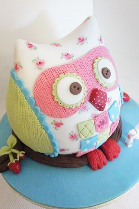 Owl birthday Cakes