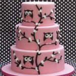 Pink And White Owls