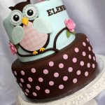 Starry Eyes Owl Cake
