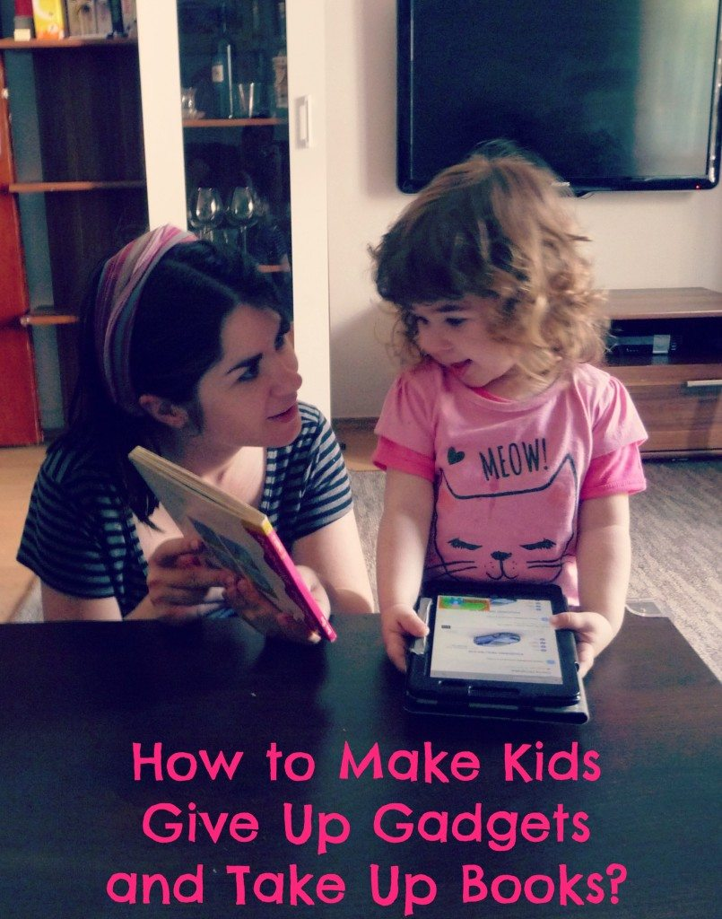 kids give up gadgets