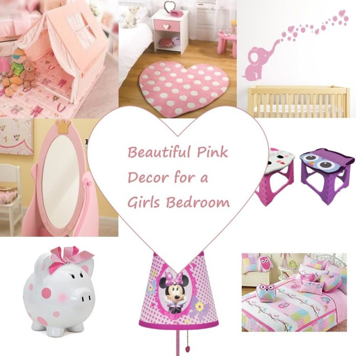 Beautiful Pink Decor for Girls Bedroom