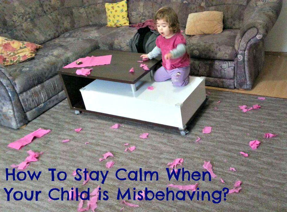 Child is misbehaving