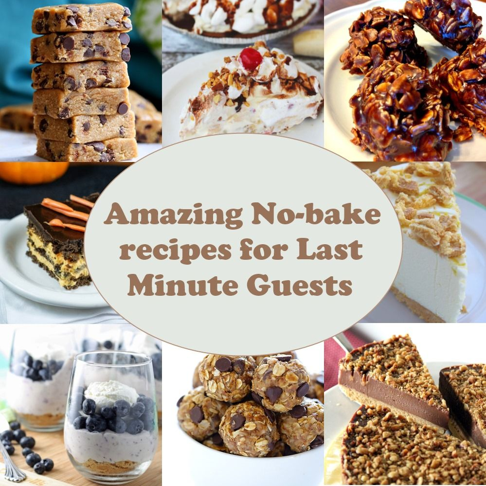 No-Bake Recipes