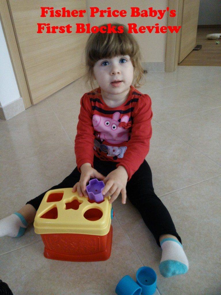 Fisher Price Babys First Blocks