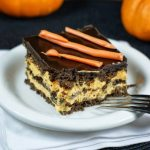 Halloween No-Bake Chocolate Eclair Dessert
