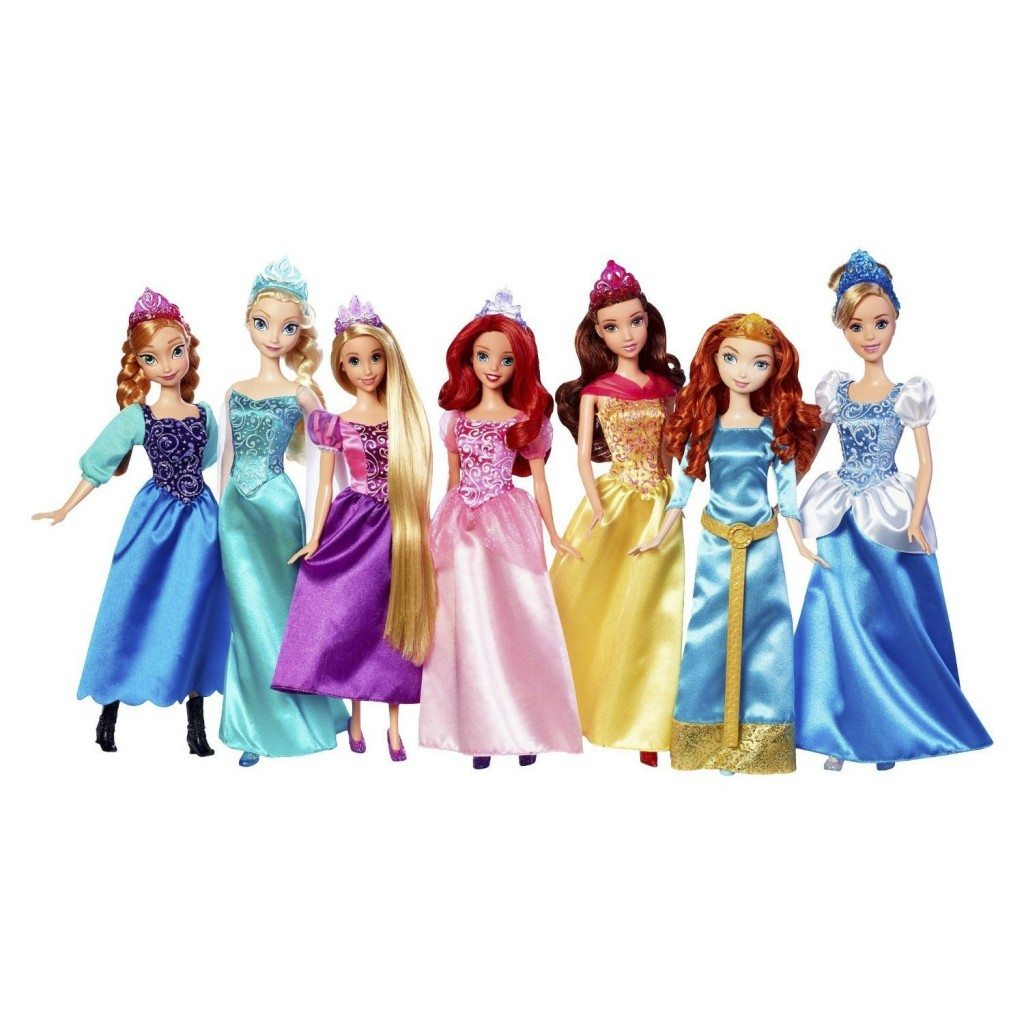 Disney princess Royal Doll Collection