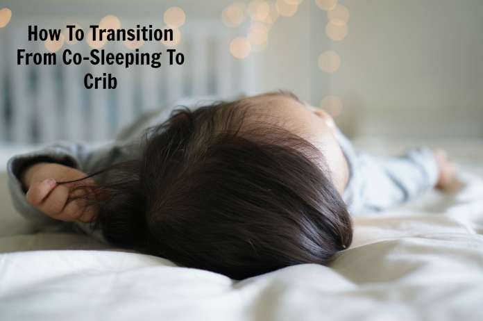 how to transition from cosleeping to crib
