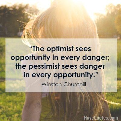 optimist quote