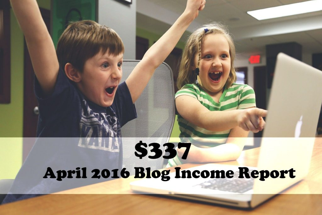 April Blog Income Report