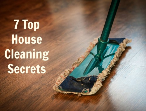 cleaning secreats for a top house