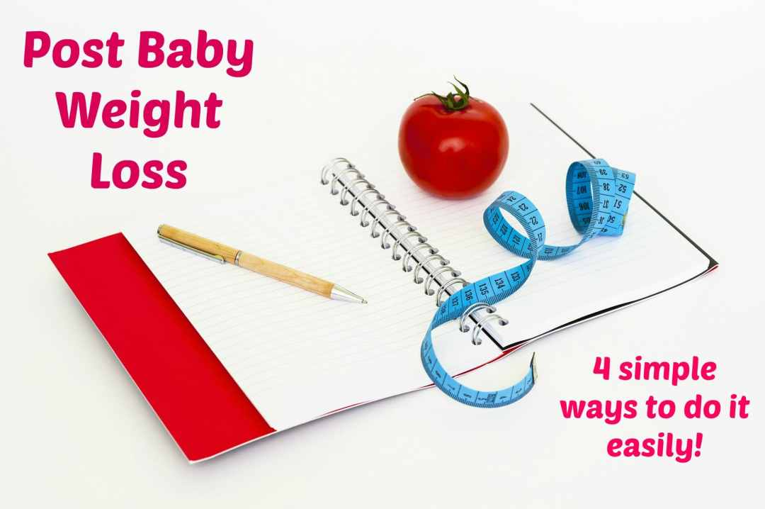 post baby weight loss