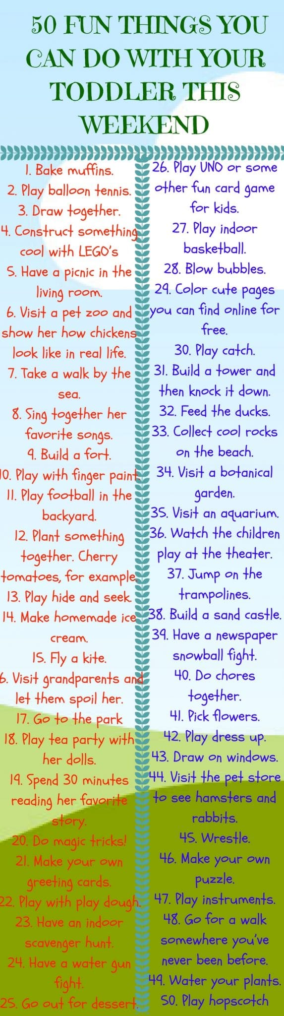 Fun Activities For Toddlers