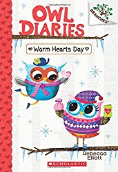 Warm Hearts Day: A Branches Book (Owl Diaries 5)