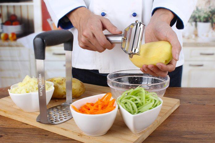 Stainless Steel Potato Masher & Potato Peeler Set Review