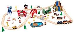 KidKraft Farm Train Set