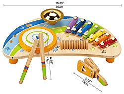 Hape Mighty Mini Band Wooden Percussion Instrument