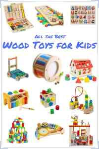All the Best Wood Toys for Kids
