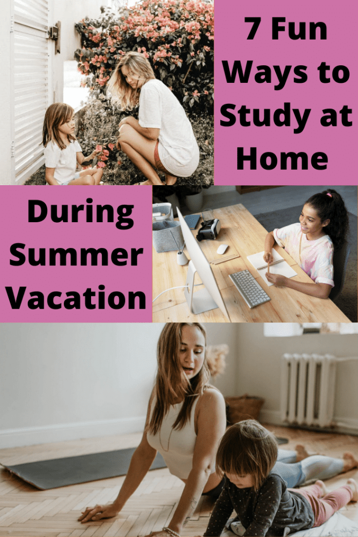 Fun Ways to Study at Home