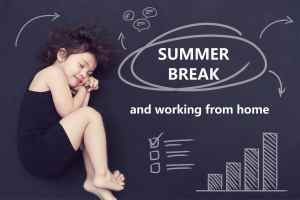 work from home with kids