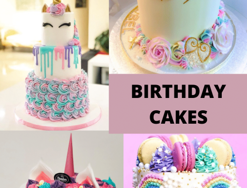 amazing unicorn birthday cakes